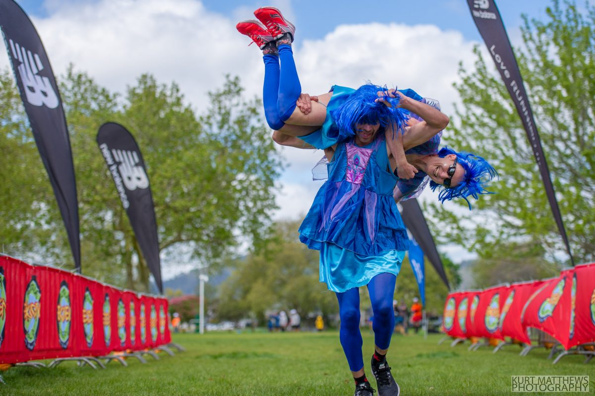 Check out the image gallery for Rotorua Ekiden fun team relay
