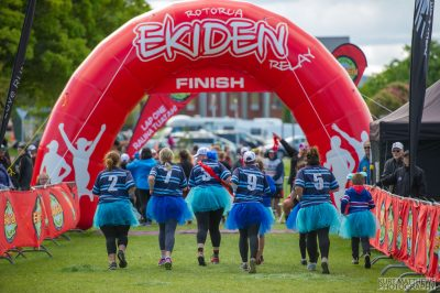 Get your results after taking part in the Rotorua Ekiden
