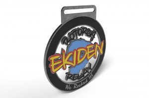 Rotorua Ekiden Fun Team Relay Finisher Medal