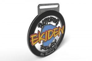 Rotorua Ekiden Fun Team Relay Finisher Medal